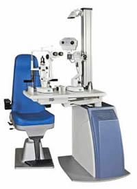 Attrezzatura oftalmica